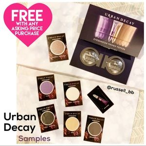Urban Decay • Eyeshadow & Primer Samples •